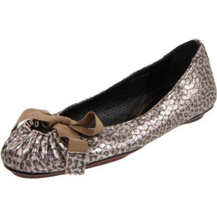Maloles Cheetah Print Ballet Flat Shoes